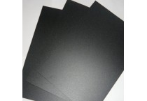 PW-EFR42 OB Black Velvet / Matte Flame Retardant PC Film